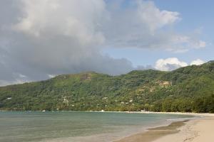 Beach at Bel Ombre, Baie Beau Vallon, Mahe, Seychelles, Indian Ocean Islands by Guido Cozzi