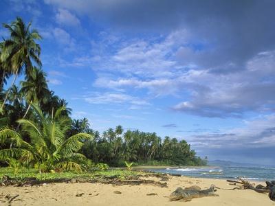 Beach in Limon, Costa Rica