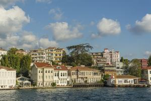 Beautiful Houses along Bosporus by Guido Cozzi