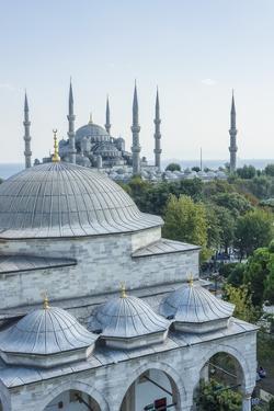 Firuz Aga Mosque and Sultan Ahamet Camii (Blue Mosque) by Guido Cozzi