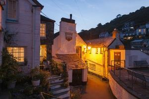 Polperro is a Village with Beautiful Ancient Houses along a Canal by Guido Cozzi