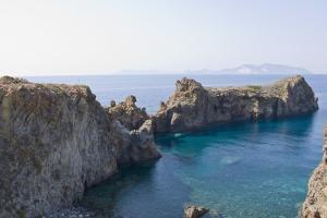 Punta Milazzese, Lipari Town, Panarea, Sicily, Italy by Guido Cozzi