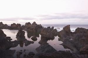Sea at Dusk, Puerto De Santiago, Tenerife, Canary Islands, Spain by Guido Cozzi