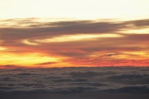 Sea at Sunset, Teide National Park, Tenerife, Canary Islands, Spain by Guido Cozzi