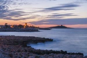 Sunset at Isola Delle Femmine by Guido Cozzi