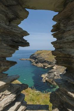 Tintagel Castle by Guido Cozzi