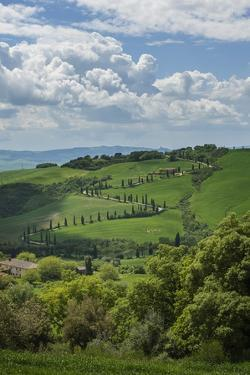 Val D'orcia View from Villa La Foce by Guido Cozzi