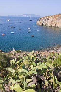 View of Lipari Town, Zimmari Gulf, Panarea, Sicily, Italy by Guido Cozzi