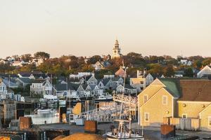 View of Nantucket Village by Guido Cozzi