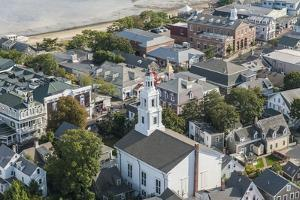 View of Provincetown from Pilgrim Monument by Guido Cozzi
