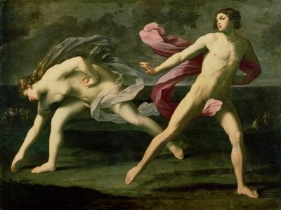 Atalanta and Hippomenes, circa 1612 by Guido Reni