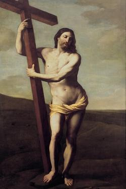 Christ Embracing the Cross by Guido Reni