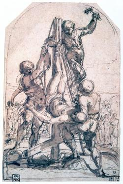 Crucifixion of St Peter, C1600-1642 by Guido Reni