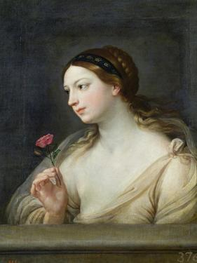 Girl with a Rose by Guido Reni