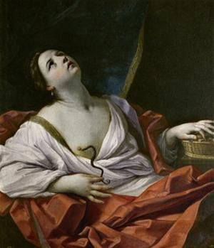 Guido Reni / Cleopatra, ca. 1640 by Guido Reni