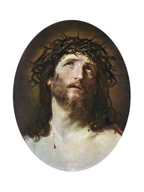 Head of Christ Crowned with Thorns, 1622-1623 by Guido Reni