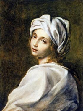 Portrait of Beatrice Cenci, Housed in the Galleria Nazionale d'Arte Antica, Rome by Guido Reni