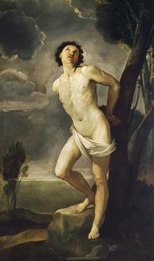 Saint Sebastian, 1640-1642 by Guido Reni