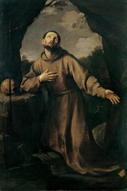 St. Francis in Ecstasy by Guido Reni