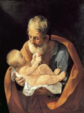St Giuseppe and Christ Child by Guido Reni