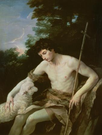 St. John the Baptist in the Wilderness, C.1625 by Guido Reni
