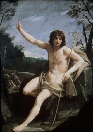 St. John the Baptist in the Wilderness, C.1636-37 by Guido Reni