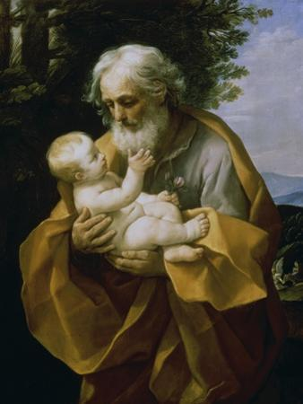 St. Joseph with the Jesus Child by Guido Reni