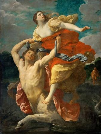 The Abduction of Deianeira by the Centaur Nessus by Guido Reni