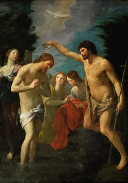 The Baptism of Christ, C.1623 by Guido Reni