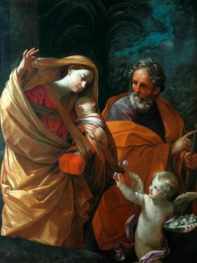 The Flight into Egypt by Guido Reni