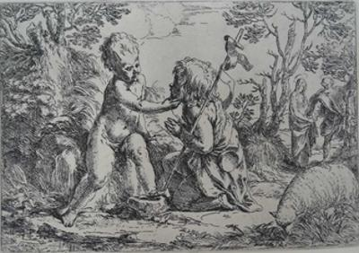 The Infant Christ and St. John