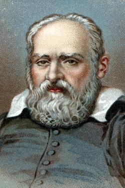 Galileo Galilei, Italian Astronomer and Mathematician, C1630S by Guido Sustermans