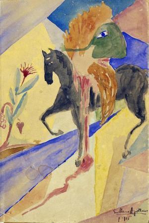Le Cavalier Masque, 1915