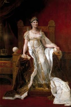 Portrait of Joséphine De Beauharnais, the First Wife of Napoléon Bonaparte (1763-181) by Guillaume Guillon Lethiére