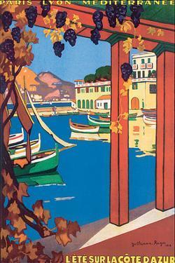 L'Ete Sur La Cote d'Azur by Guillaume Roger