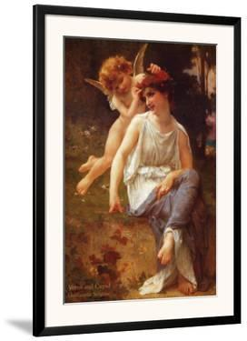 Venus and Cupid by Guillaume Seignac