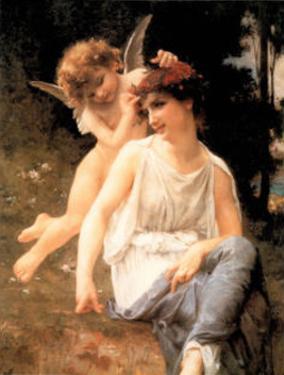Venus Cupid by Guillaume Seignac