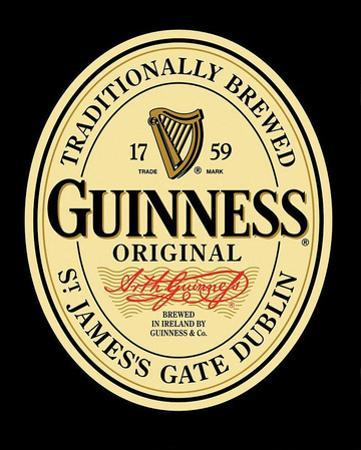 Guinness Original Label Poster