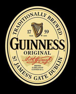 Guinness Original Label Poster