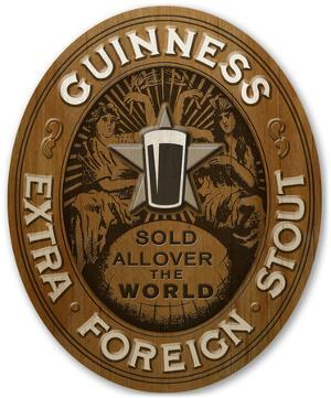 Guinness - Oval Extra Stout