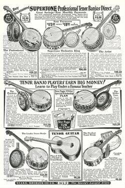 Guitar and Banjo Catalog