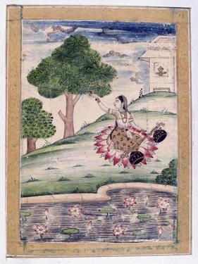 Gujari Ragini, Ragamala Album, School of Rajasthan, 19th Century