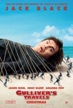 Gulliver's Travels (Jack Black, Emily Blunt, Jason Segel) Movie Poster