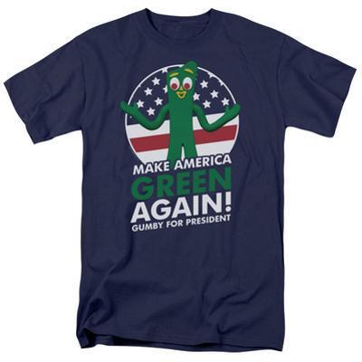 Gumby- For President, Make America Green Again