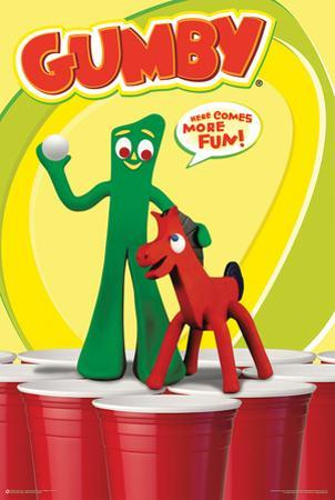 Gumby- Here Comes More Fun Beer Pong