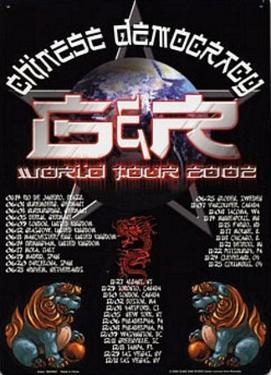 Guns N Roses Chinese Democracy World Tour 2002 Concert