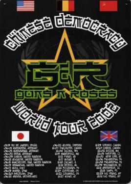 Guns N Roses Chinese Democracy World Tour 2002