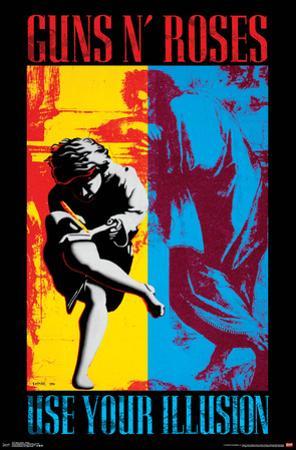 Guns n' Roses- Illusion Cover Art