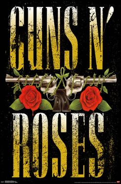 GUNS N' ROSES - STACKED LOGO