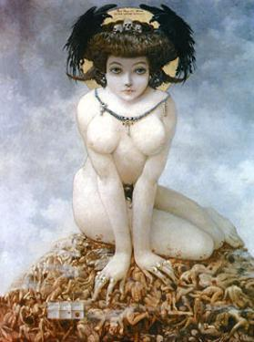 Elle, 1905 by Gustav Adolf Mossa